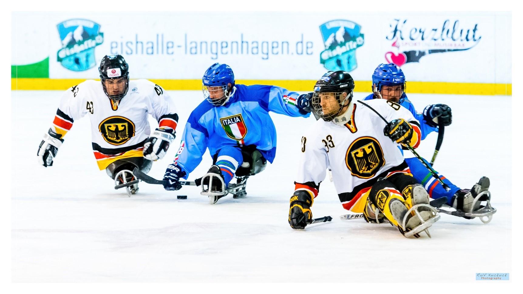 Sledge-Eishockey Ralf Kuckuck